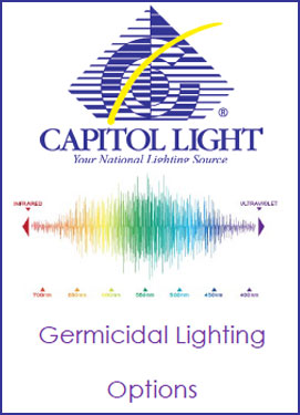 Germicidal Lighting, Commercial Germicidal Lighting Solution, Anti-microbial Lighting, UV Lighting, UVC Lighting, Far-UVC lighting, Covid-19 Lighting, Coronavirus Lighting, Healthy Lighting, Lighting for your Health